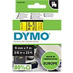 DYMO Labels D1 40918 Zwart op Geel 9 mm x 7 m