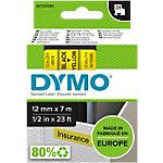 DYMO Labels D1 45018 Zwart op Geel 12 mm x 7 m