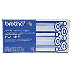 Brother PC74RF Original Zwart Lintpatroon PC 74RF