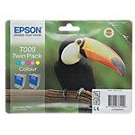 Epson T009 Inkt Cartridge Cyaan, Light Cyaan, Magenta, Light Magenta, Geel Duopack