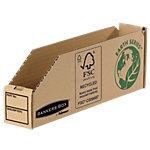 Bacs de rangement Fellowes 07351EU 100% Carton recyclé Marron 50 x 100 x 280 mm 50 Unités