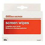 Lingettes de nettoyage pour écrans Office Depot 50 Unités