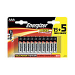 Piles Energizer Max AAA 20 piles
