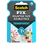 Ruban adhésif Scotch Transparant montage Transparent 19 mm x 1,5 m