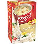 Soupes instantanées Royco Asperges aux croûtons 20 unités