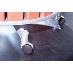 Set de roulettes Moll pour tableaux tournants de 2 à 4 étages 4 Niveaux Gris 6,7 cm 5 Unités