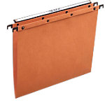 Dossiers suspendus verticaux ELBA AZO Ultimate® Folio Orange Fond V 25 Unités