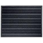 Tapis de sol extérieur Office Depot Polyamide Anthracite, noir 90 x 68 cm