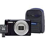 Appareil photo numérique Praktica Z212 20 Mégapixels Noir