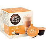 Capsules de café Nescafé Dolce Gusto Latte Macchiato 16 Unités