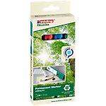 Marqueur permanent edding EcoLine 21 Pointe ronde 1,5   3 mm Assortiment de couleurs 4 Unités