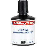 Recharge d'encre edding T100 Noir 100 ml