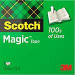 Ruban adhésif Scotch Magic™ 810 Transparent 19 mm x 10 m