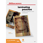 Pochettes de plastification Office Depot A3 2 x 125 (250)  µm Transparent Brillant