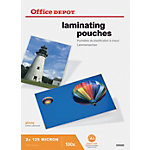 Pochettes de plastification Office Depot A5 2 x 125 (250)  µm Transparent Brillant