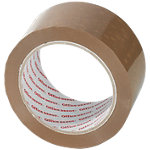 Ruban adhésif d'emballage Office Depot Heavy Duty Low Noise Marron 50 µm 50 mm x 66 m 6 Rouleaux
