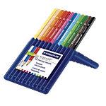 Crayons de couleur en étui STAEDTLER ergosoft® Assortiment 12 Unités
