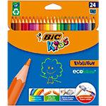 Crayons de couleurs BIC Kids Evolution Assortiment 24 Unités