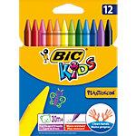 Craies de coloriage BIC Plastidecor Kids Assortiment 12 Unités