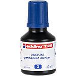 Recharge pour marqueurs edding T 25 Bleu 30 ml