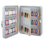 Armoire à clés Office Depot Gris 80 crochets 8 x 30 x 24 cm