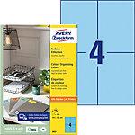 Étiquettes pour porte revues Avery 3457 Bleu 105 x 148 mm 400 Unités