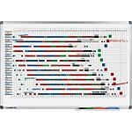 Panneau magnétique de planning Legamaster Annuel 90 x 60 cm