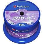 Support DVD enregistrable Verbatim 43550 4.7 Go 120 Min. 50 Unités