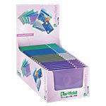 Porte carte Tarifold 510299 Violet, gris, bleu, vert 10,2 x 7,5 cm 24 Unités