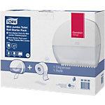 Kit de démarrage distributeur et rouleau de papier toilette Tork Mini Jumbo T2 2 Pièces