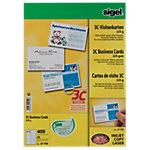 Cartes de visite pour PC Sigel 3C Vanille 225 g