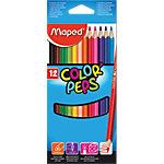 Crayons de couleurs Maped Color Peps 2.9 mm Assortiment 12 Unités