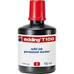 Recharge d'encre pour marqueurs permanents edding T 100