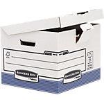 Boîtes d'archivage R Kive Prima Flip Top Kubus 37,7 x 39,5 x 31 cm carton 100% recyclé Assortiment 10 unités