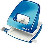 Perforateur Leitz WOW Bleu métallisé 30 Feuilles 2 trous