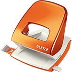 Perforateur Leitz WOW Orange métallisé 30 feuilles 2 trous