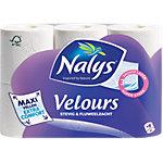 Papier toilette Nalys Velours Maxi Sheet 414819 3 épaisseurs 6 Rouleaux