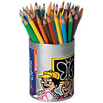 Crayons de couleur triangulaires en pot cylindrique Bruynzeel Color Express® 3.3 mm Assortiment 48 Unités