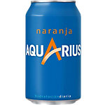 Boisson énergisante AQUARIUS Orange 24 x 0,33 l