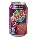 Oasis Pommes Cassis Framboises 24 x 0,33 l