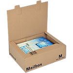 Boîte d'expédition pré pliées Office Depot Mail Box Marron 325 x 240 x 105 mm