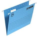 Dossier suspendus verticaux ELBA Verticflex Ultimate A4 Bleu Carton Manila Fond V 25 Unités