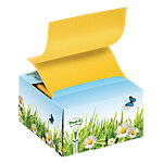 Box Z notes Post it Z notes Jaune 76 x 76 mm 1 x 200 Feuilles
