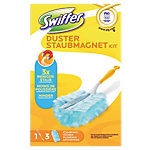 Starterkit duster + 3 plumeaux Swiffer Duster Swiffer + 3 plumeaux Blanc   4 Unités