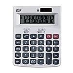 Calculatrice de bureau Ativa AT 811 12 chiffres Argenté