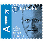 Timbres postaux autocollants bpost Tarification 1 Europe 50 Unités