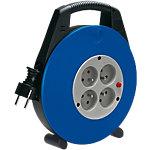 Rallonge électrique sur enrouleur de câble brennenstuhl Vario 10 m 4 prises