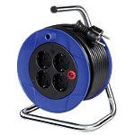 Enrouleur de câble brennenstuhl Compact 15 m prises
