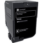 Toner Lexmark D'origine 74C2HKE Noir