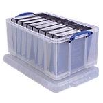 Boîte d'archivage Really Useful Boxes 64 litres 44 x 71 x 31 cm Plastique Transparent